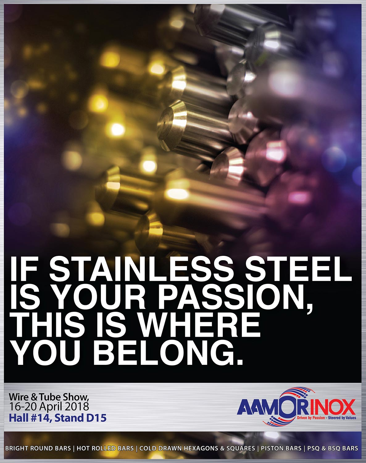 Aamor Inox | Leading Manufacturer of Stainless Steel